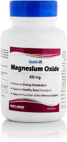 Healthvit High Absorption Magnesium Oxide 400 mg 60 Capsules