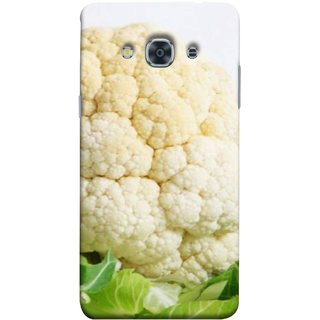 FUSON Designer Back Case Cover for Samsung Galaxy J3 Pro :: Samsung Galaxy J3 (2017) (Organic Cauliflower Background Table Farmer Subji)