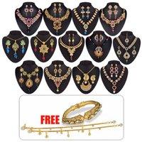 Utsav-1-Gram-Gold-Plated-13-Jewellery Set