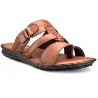 Chris & Kate Tan Casual Sandals For Men - 122126391