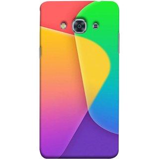 FUSON Designer Back Case Cover for Samsung Galaxy J3 Pro :: Samsung Galaxy J3 (2017) (Gliding Mobile Wallpaper Floral Patterns Shining Dark Patterns)