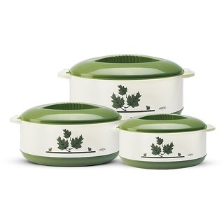 Milton Casseroles ORCHID JR. SET (.45/.85/1.5) LTRS GREEN