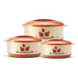 Milton Casseroles ORCHID JR. SET (.45/.85/1.5) LTRS LIGHTBROWN