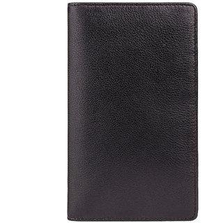 Visconti Jaws Bi-Fold Black & Green Genuine Leather Men's Wallet With RFID
