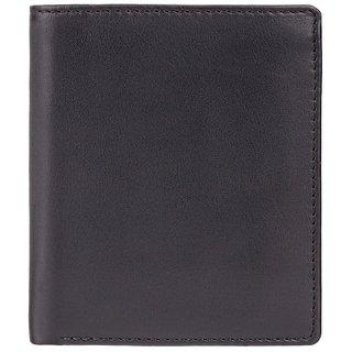 Visconti Dr.No Bi-Fold Black & Green Genuine Leather Men's Wallet With RFID