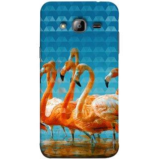 FUSON Designer Back Case Cover for Samsung Galaxy J7 J700F (2015) :: Samsung Galaxy J7 Duos (Old Model) :: Samsung Galaxy J7 J700M J700H  (Animal Birds Long Beak Beautiful Wallpaper Designs)
