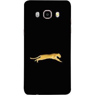 FUSON Designer Back Case Cover for Samsung Galaxy J7 (6) 2016 :: Samsung Galaxy J7 2016 Duos :: Samsung Galaxy J7 2016 J710F J710Fn J710M J710H  (Wild Jungle Tigers Whisker Roaring Sitting Safari India)
