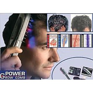 Power Grow Hair Treatment Laser Comb Kit Fast Results