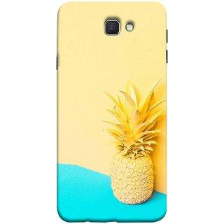 FUSON Designer Back Case Cover for Samsung Galaxy J7 Prime (2016) (Light Yellow Cream Pineapple Lamp Ananas)