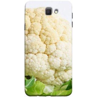 FUSON Designer Back Case Cover for Samsung Galaxy J7 Prime (2016) (Organic Cauliflower Background Table Farmer Subji)
