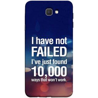 FUSON Designer Back Case Cover for Samsung Galaxy J7 Prime (2016) (Ten Thousand Ways That Won'T Work Creative Colours)
