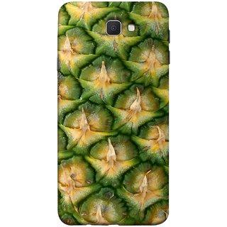 FUSON Designer Back Case Cover for Samsung Galaxy J7 Prime (2016) (Pineapple Skin Interesting Textured Art Design )