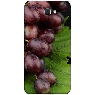 FUSON Designer Back Case Cover for Samsung Galaxy J7 Prime (2016) (Nature Farm Wine Organic Farm Agriculture Autumn )