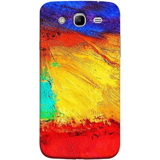 FUSON Designer Back Case Cover for Samsung Galaxy Mega 5.8 I9150 :: Samsung Galaxy Mega Duos 5.8 I9152 (Colour Canvas For Hall Bedroom Painting Intresting Lot)