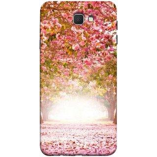 FUSON Designer Back Case Cover for Samsung Galaxy J7 Prime (2016) (Best Road To Walk Flowers Fresh Sunshine Sunny Day )