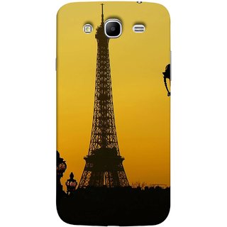 FUSON Designer Back Case Cover for Samsung Galaxy Mega 5.8 I9150  Samsung Galaxy Mega Duos 5.8 I9152 (Bridge Eiffel Tower France Paris Ornate Lamp)