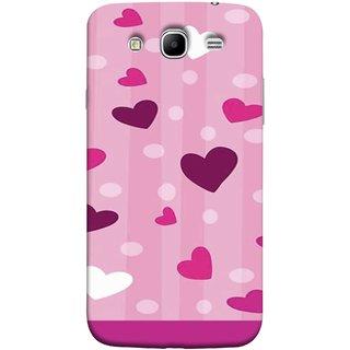 FUSON Designer Back Case Cover for Samsung Galaxy Mega 5.8 I9150  Samsung Galaxy Mega Duos 5.8 I9152 (Always I Love You Red Hearts Couples Together Valentine)