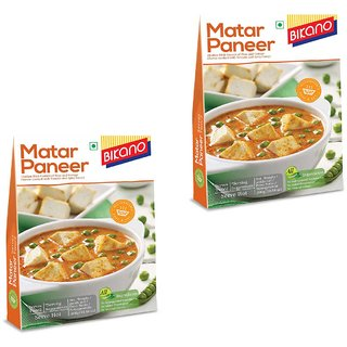 Bikano Matar Paneer 300g (RTE) (Pack of 2)