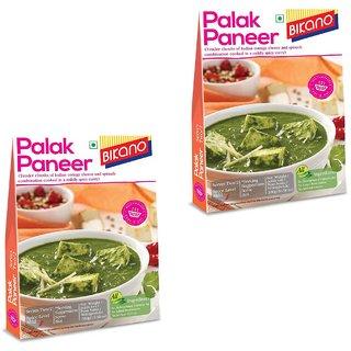 Bikano Palak Paneer 300g (RTE) (Pack of 2)