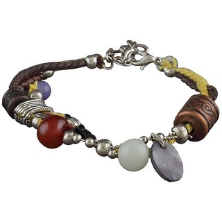 Anuradha Art Multi Colour Designer Classy Stylish Beads Bracelet For Women/Girls