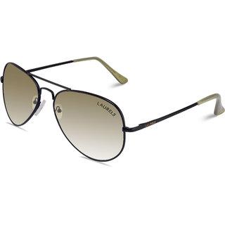 ae392c806df Buy Laurels Eagle UV Protected Aviator Sunglasses - Olive Lens -  Ls-Eag-160202 Online - Get 81% Off