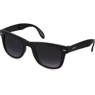 f224d277c29784 Buy Laurels Flex UV Protected Wayfarer Foldable Sunglasses - Black Lens - Ls-Flx-020202  Online - Get 80% Off