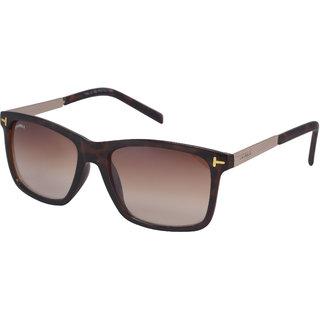 Laurels Yellow Night Vision Rectangular Unisex Sunglasses