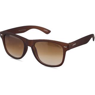 Laurels Urbane UV Protected Matt Finish Wayfarer  Sunglasses - Brown Lens - Ls-Urb-090909