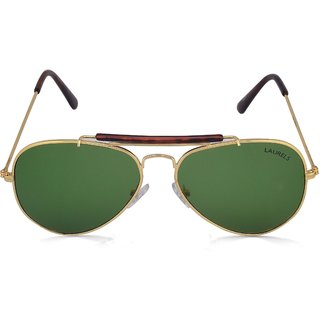 9b6dcdc8e0e 81%off Laurels AvengerUV Protected Green Lens Sunglasses (Ls-Avg-040606)