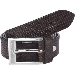 Laurels Brown Color Genuine Leather Alligator Men'S Belt