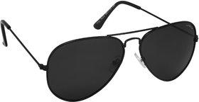 Laurels Aristocrat Men Black Color Polarized Aviator Sunglass (Ls-Ast-020202)
