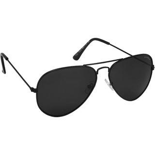 4b41e4f6c54 Laurels Aristocrat Men Black Color Polarized Aviator Sunglass  (Ls-Ast-020202)