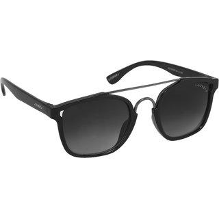 Laurels Maestro Men Black Color Wayfarer Sunglass (LS-MAS-020218)