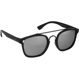 Laurels Maestro Men Silver Color Wayfarer Sunglass (LS-MAS-070218)