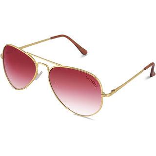 749db95d5c0 Laurels Eagle UV Protected Aviator Sunglasses - Red Lens - Ls-Eag-100606