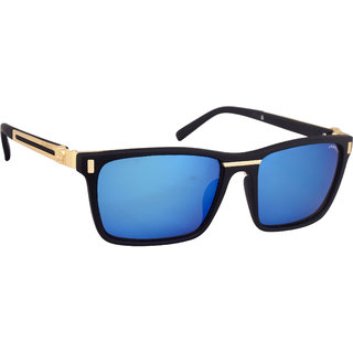 Laurels Venice Men Blue Color Wayfarer Sunglass (LS-VENICE-030206)