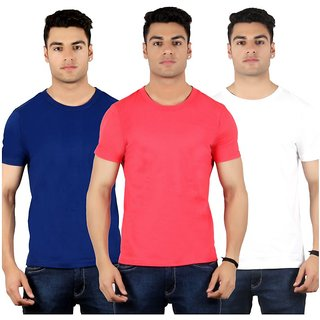 Diaz Multi Round T-Shirt Pack Of 3