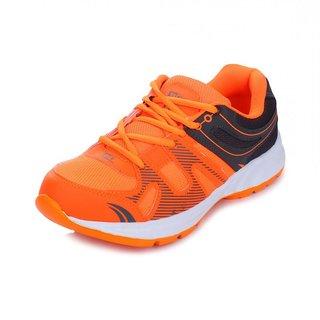 c2fbd513d67 Buy Liberty Force-10 Orange-Black Sports Shoes Online - Get 0% Off