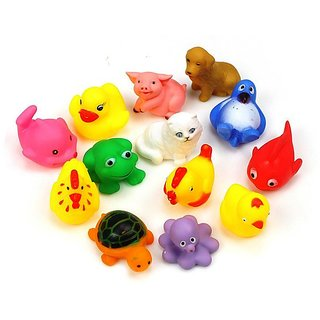 Bath Toys Baby Swimming Bath Water Toys Sounding Bath Toys 13 pcs