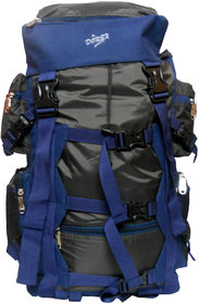 Donex 40-50 L Polyester Black & Navy Rucksacks