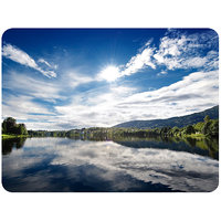 Outside View Of A City Mouse Pad By Shopkeeda