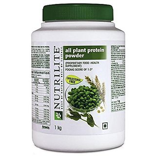 Amway Nutrilite All Plant Protein (1Kg / 2.2lbs, Unflavoured)