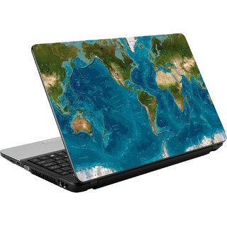 N/A World Map Vinyl Laptop Skin