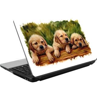 N/A Puppys High Qulity Vinyl Laptop Skin