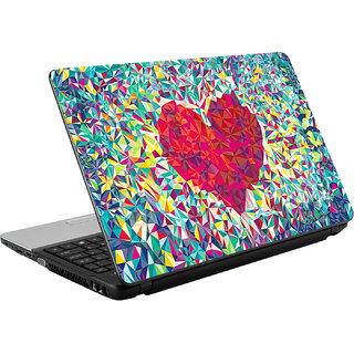 N/A Heart High Qulity Vinyl Laptop Skin