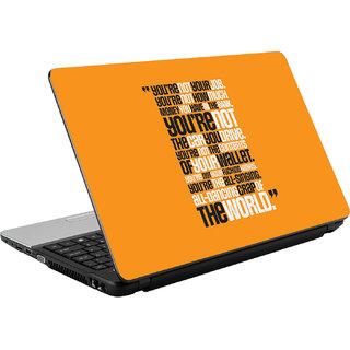 N/A Taypography Vinyl Laptop Skin