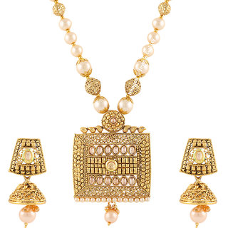 Buy Jewels Galaxy Exclusive Square Shaped Pearl Designer