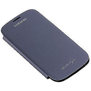 brand new 306d7 5a3a9 Blue Samsung Galaxy S3 Slll S 3 I9300 Leather Flip Cover Pouch Hard Back