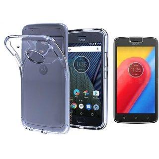 watch 07db6 f5c62 Buy Motorola Moto C plus back cover black Online - Get 76% Off