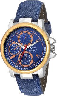 PIRASO 9129 Denim Strap Analog Watch - For Men